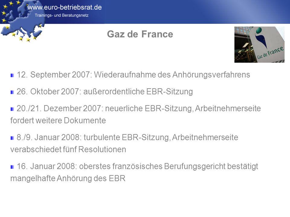 www.euro-betriebsrat.de Gaz de France 22.