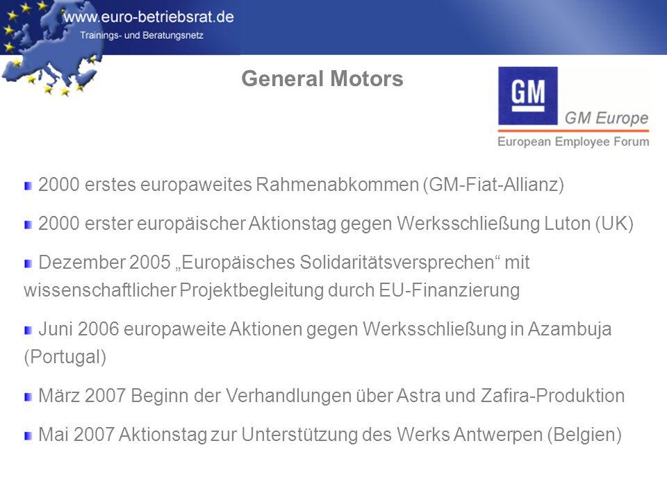 www.euro-betriebsrat.de General Motors 29.