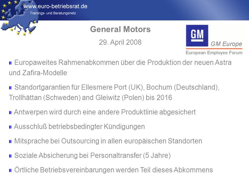 www.euro-betriebsrat.de Europäische Betriebsräte spannen ihre Muskeln Gewerkschaften mißbrauen die Europäischen Betriebsräte dazu, um die Arbeitgeber in Schwierigkeiten zu bringen.