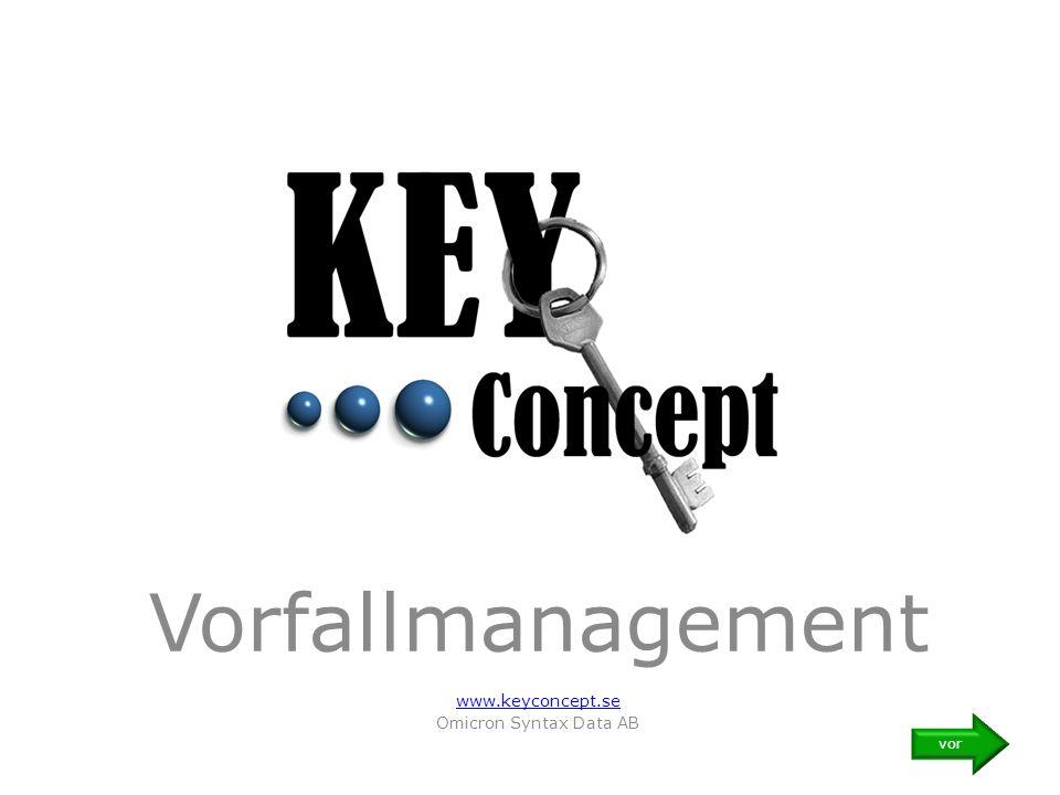 Vorfallmanagement www.keyconcept.se Omicron Syntax Data AB vor
