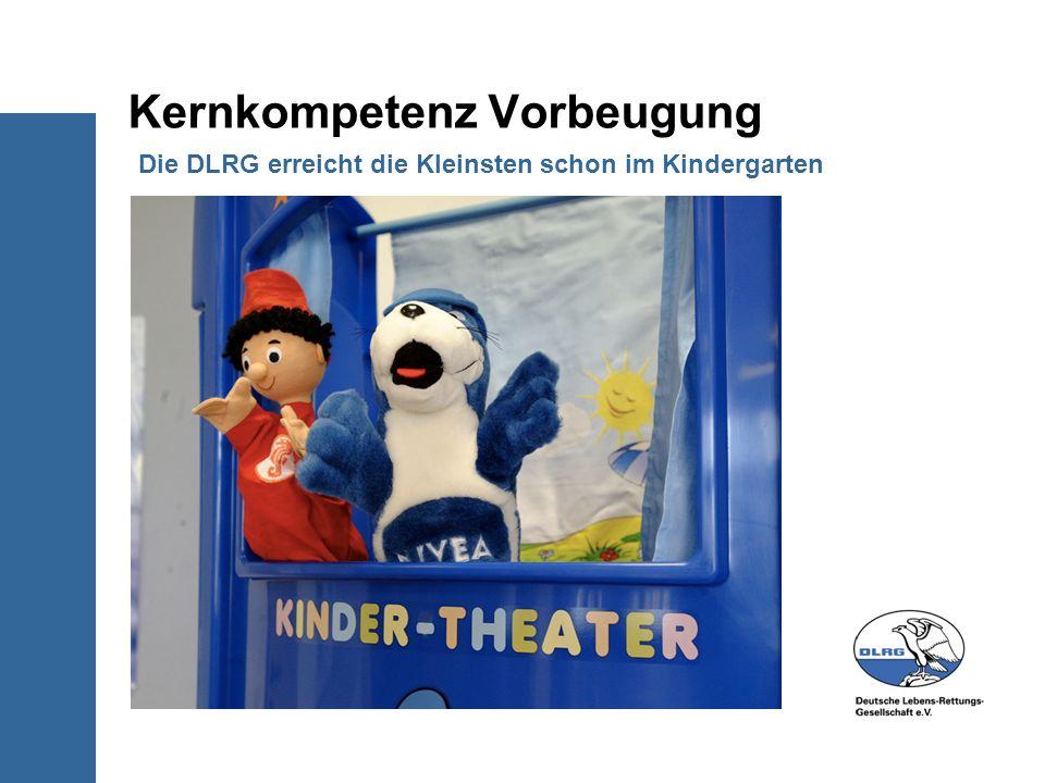 Kernkompetenz Vorbeugung Die DLRG erreicht die Kleinsten schon im Kindergarten