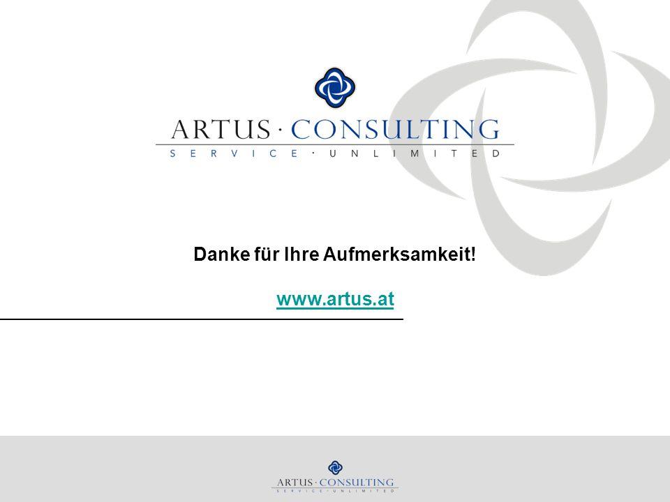 Danke für Ihre Aufmerksamkeit! www.artus.at www.artus.at