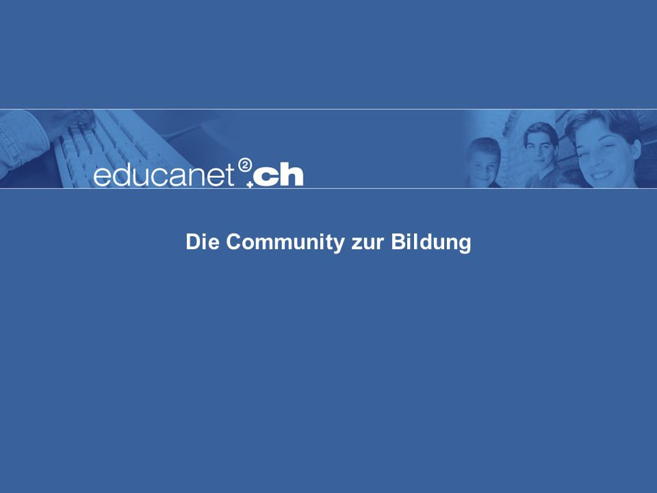 Die Community zur Bildung