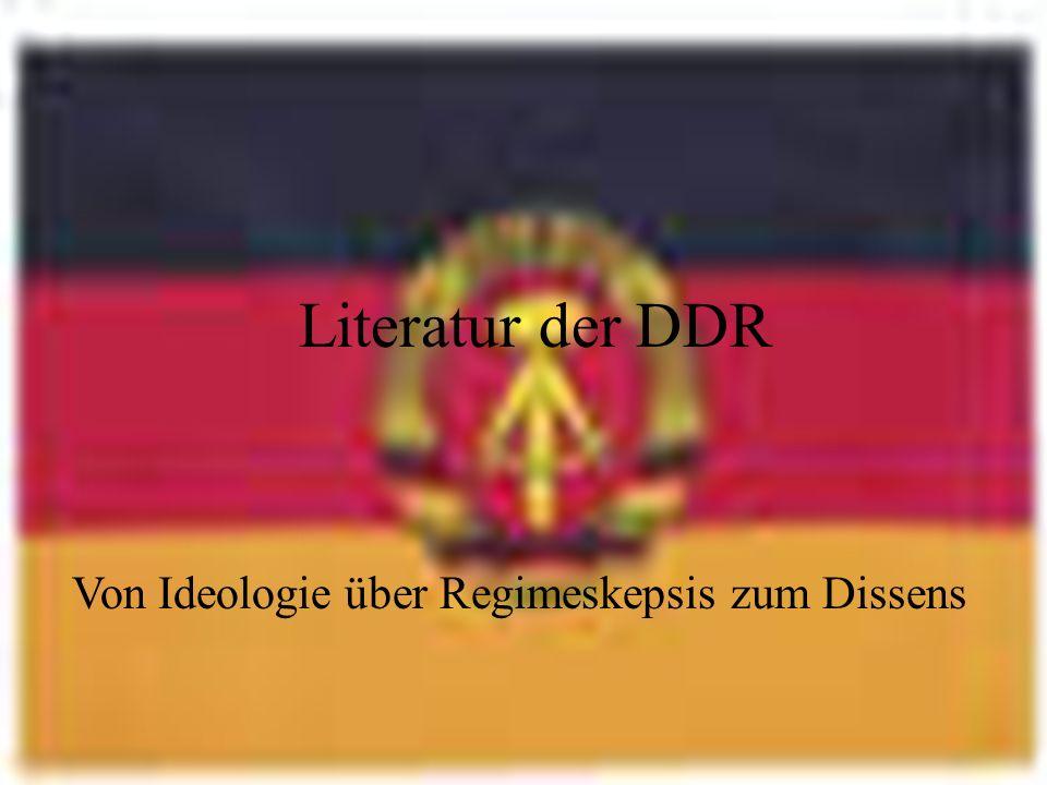 wenn die Literatur ideologisiert wird.