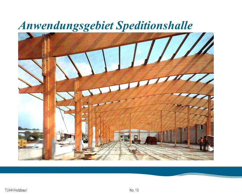 TUHH Holzbau I No. 13 Anwendungsgebiet Speditionshalle