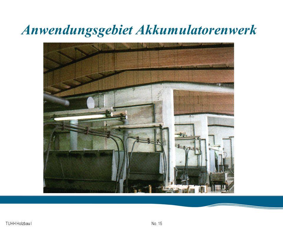 TUHH Holzbau I No. 15 Anwendungsgebiet Akkumulatorenwerk