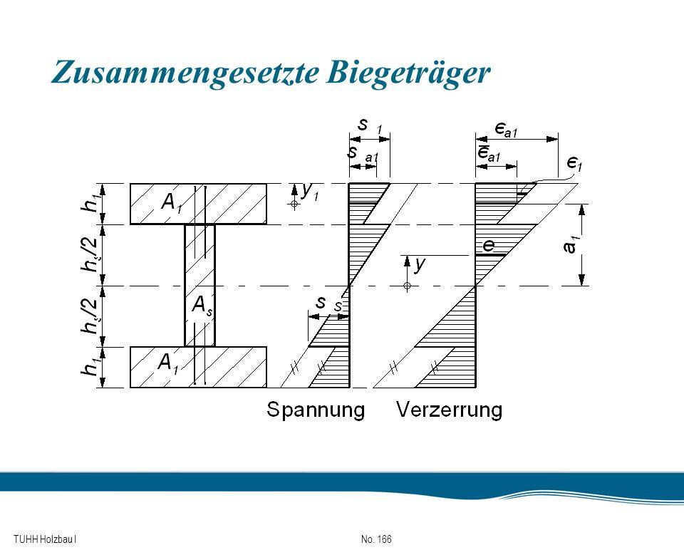 TUHH Holzbau I No. 166 Zusammengesetzte Biegeträger