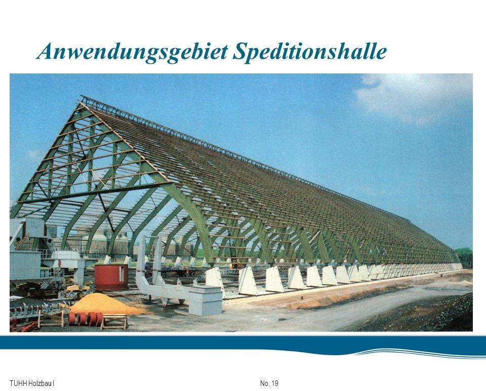 TUHH Holzbau I No. 19 Anwendungsgebiet Speditionshalle