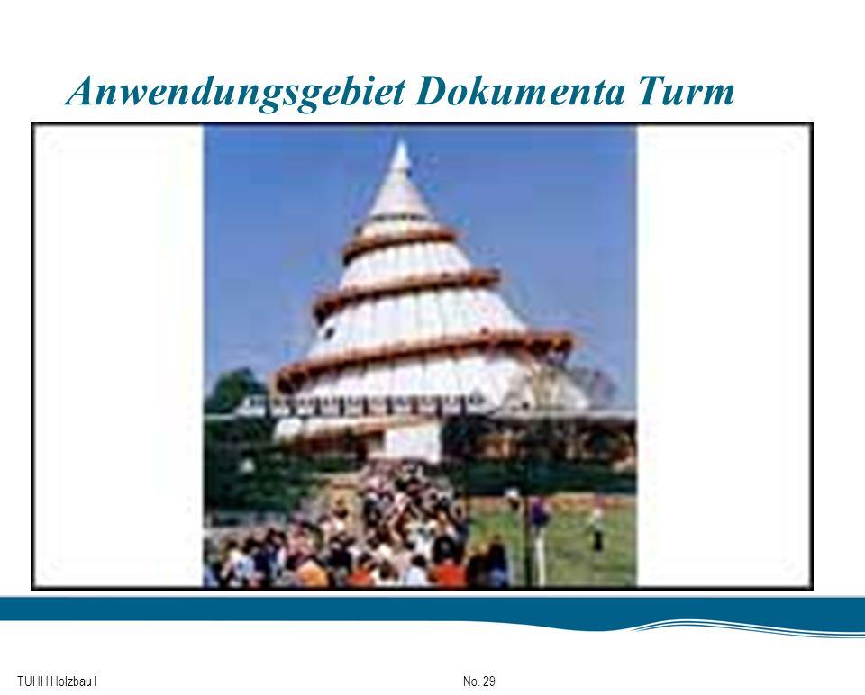 TUHH Holzbau I No. 29 Anwendungsgebiet Dokumenta Turm