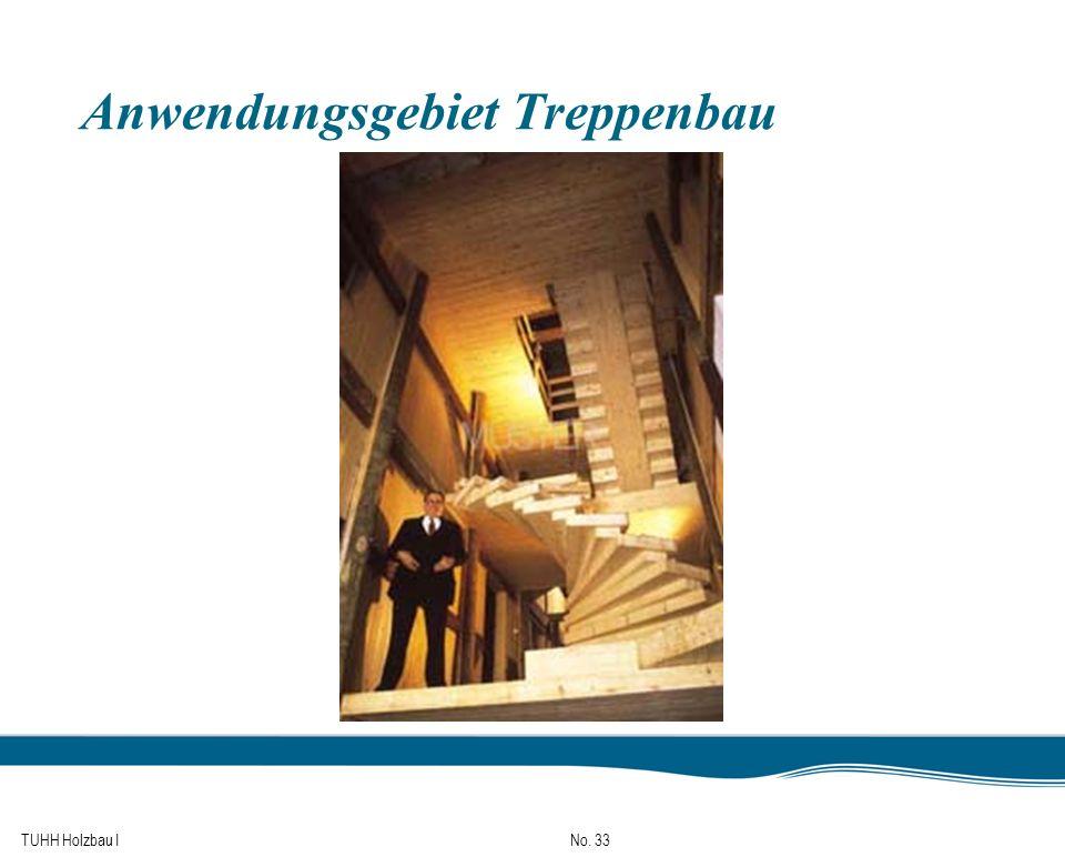 TUHH Holzbau I No. 33 Anwendungsgebiet Treppenbau