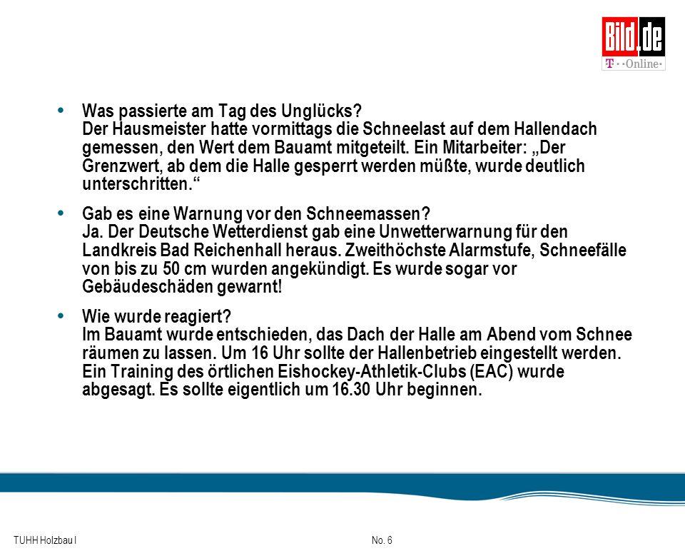 TUHH Holzbau I No.67 Inhalt 0.Literatur 1.Übersicht 2.