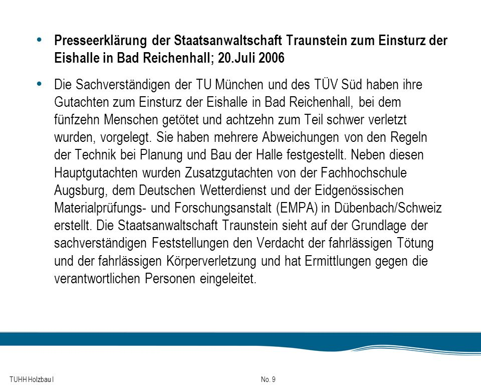 TUHH Holzbau I No.80 Holzverbindungen Kontaktverbindungen: 2.