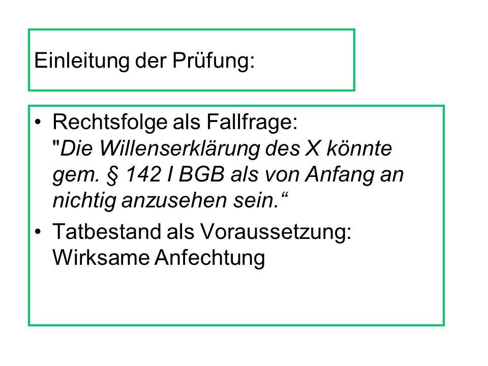 Das wars theoretisch! Übungsfälle: Köhler, PdW Allgemeiner Teil, Fälle 54 - 70