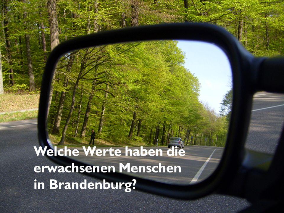 Welche Werte haben die erwachsenen Menschen in Brandenburg?