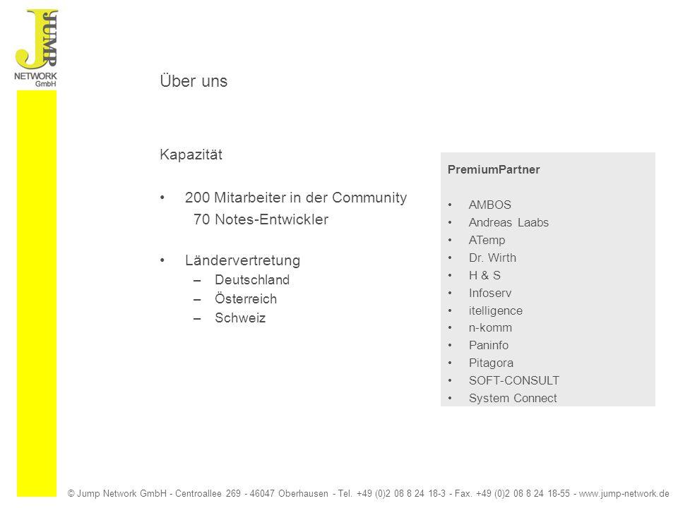 © Jump Network GmbH - Centroallee 269 - 46047 Oberhausen - Tel. +49 (0)2 08 8 24 18-3 - Fax. +49 (0)2 08 8 24 18-55 - www.jump-network.de Über uns Kap