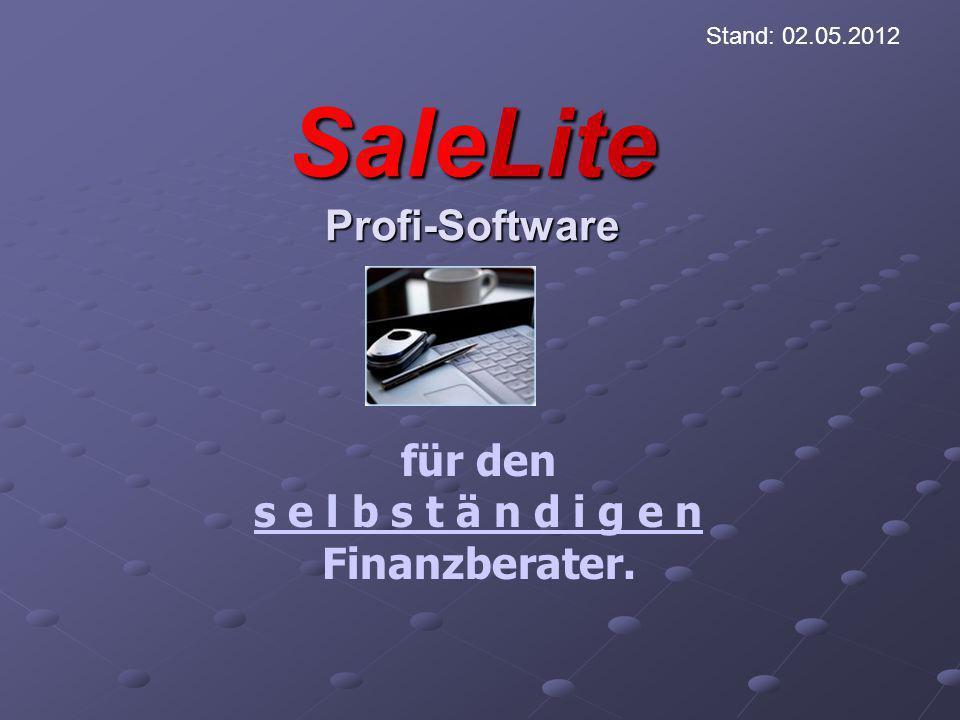 Seit mehr als 10 Jahren unterstützt SaleLite viele selbständige Finanzberater bei der täglichen Arbeit.
