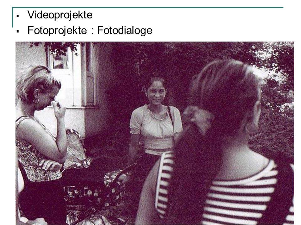 Videoprojekte Fotoprojekte : Fotodialoge
