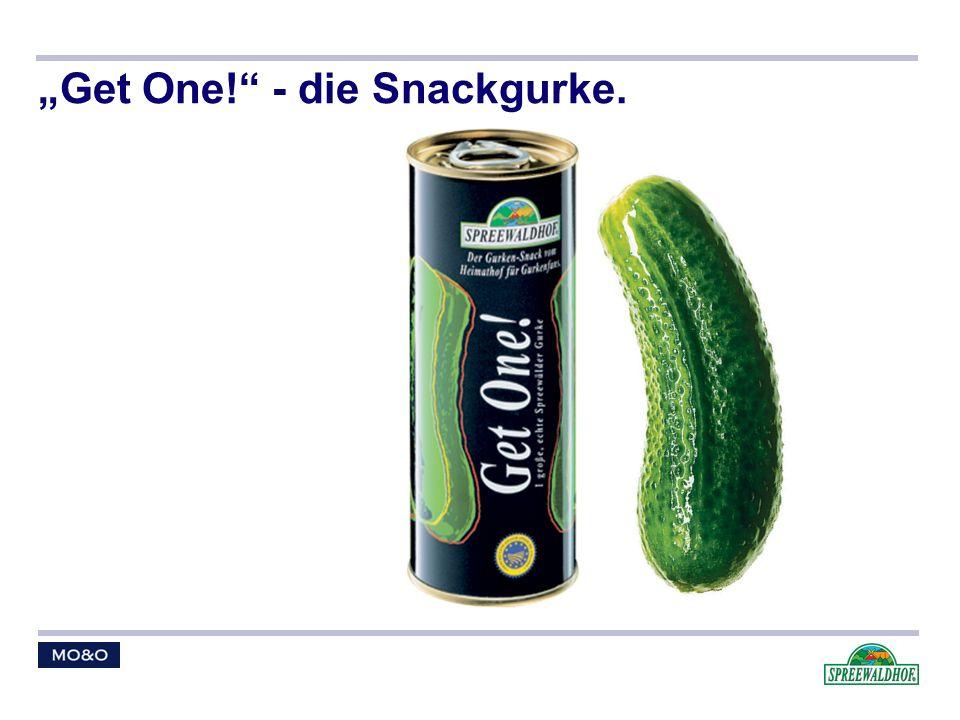 Get One! - die Snackgurke.