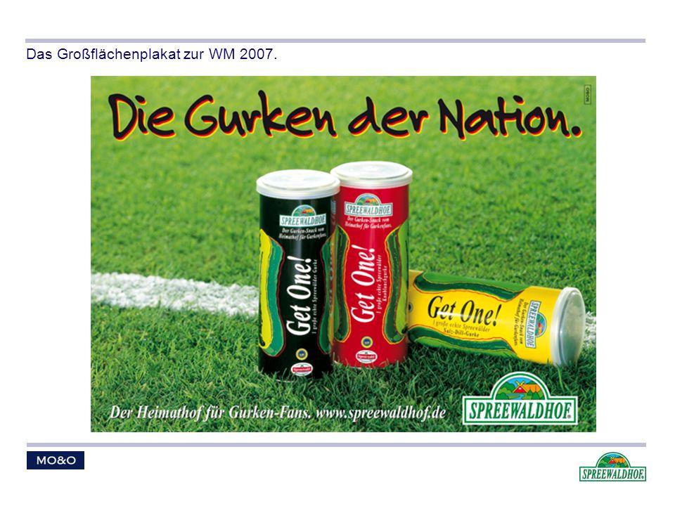Das Großflächenplakat zur WM 2007.