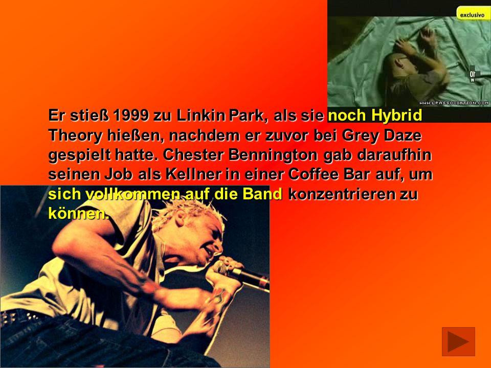 Er stieß 1999 zu Linkin Park, als sie noch Hybrid Theory hießen, nachdem er zuvor bei Grey Daze gespielt hatte. Chester Bennington gab daraufhin seine