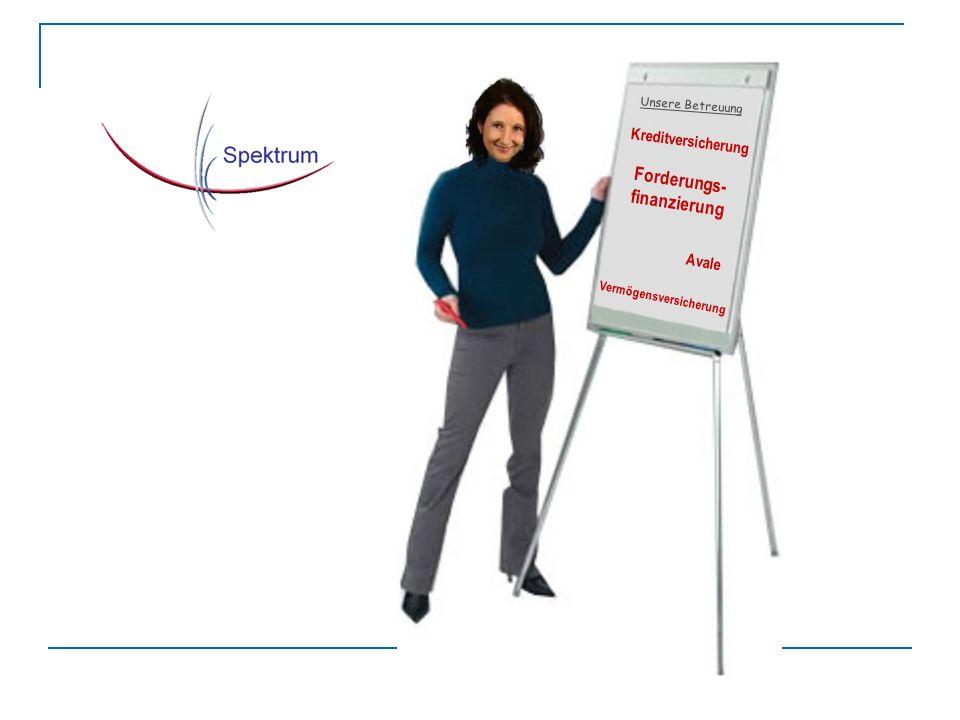 Forderungs- finanzierung Avale Unsere Betreuung Vermögensversicherung Kreditversicherung