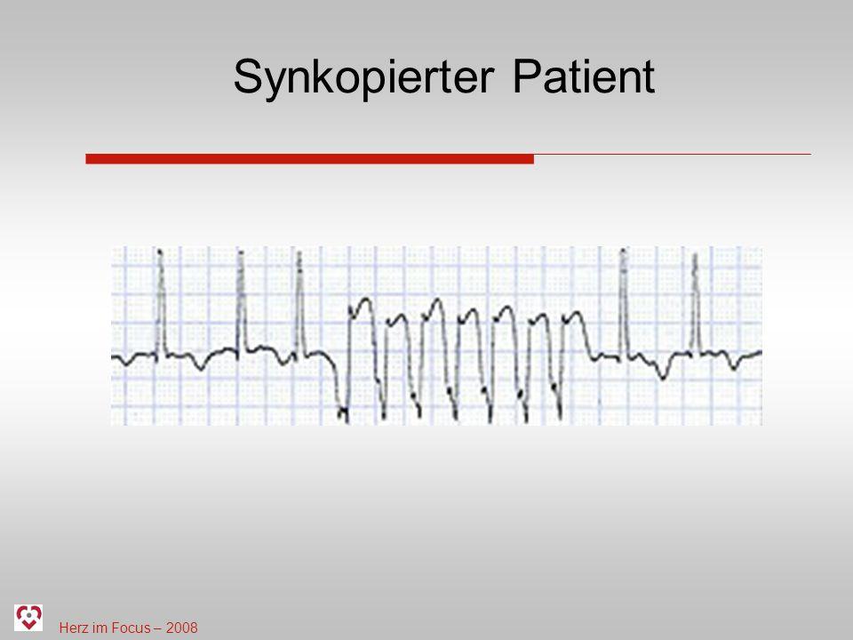 Herz im Focus – 2008 Synkopierter Patient