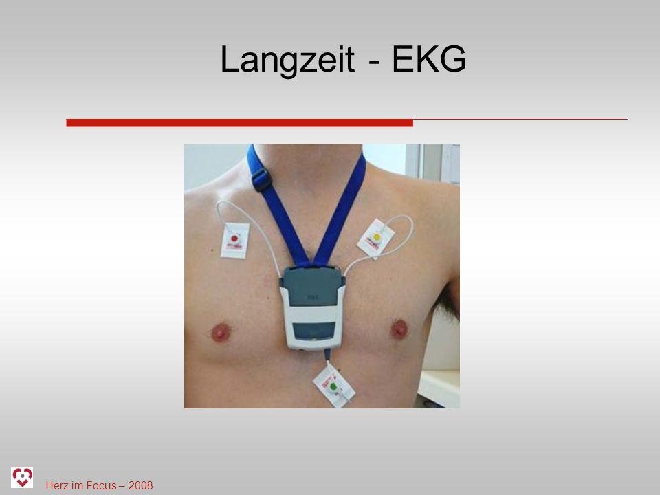 Herz im Focus – 2008 Langzeit - EKG