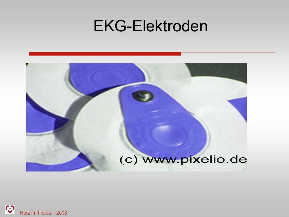 Herz im Focus – 2008 EKG-Elektroden