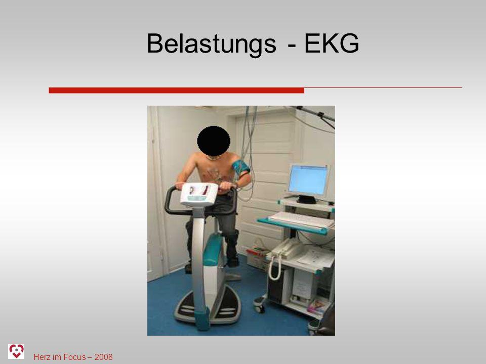 Herz im Focus – 2008 Belastungs - EKG