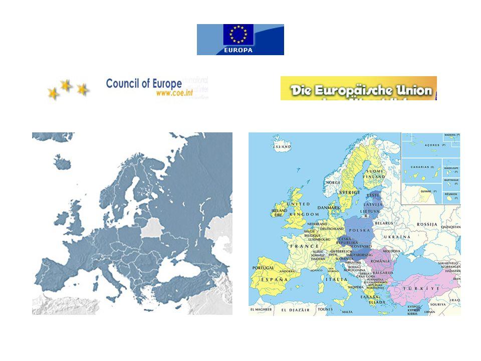 1951:Europäische Gemeinschaft für Kohle und Stahl (EGKS) - Belgien, Deutschland, Luxemburg, Frankreich, Italien und die Niederlande 1957: Vertrag von Rom: Europäische Atomgemeinschaft (EURATOM) und die Europäische Wirtschaftsgemeinschaft (EWG).