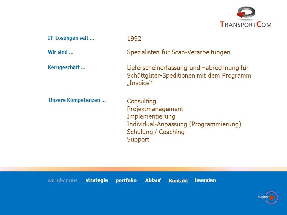 IT-Lösungen seit...1992 Wir sind... Kerngeschäft...