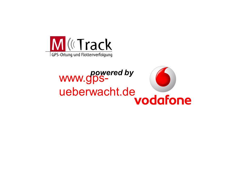 www.gps-ueberwacht.de M-Track Software Erfassung und Auswertung von Positionsdaten Textübermittlung Auftragsvergabe Aktuelle Statusanzeige: Zündungssignal, Ein-/ Ausgänge Detaillierte Kartendarstellung