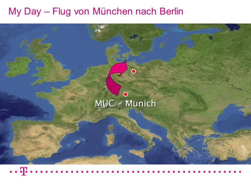VGK4 3 My Day – Flug von München nach Berlin