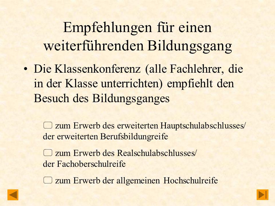 Summe der Halbjahresnoten der Jahrgangsstufe 6 FachNote Deutsch Mathematik erste Fremdsprache Notensumme