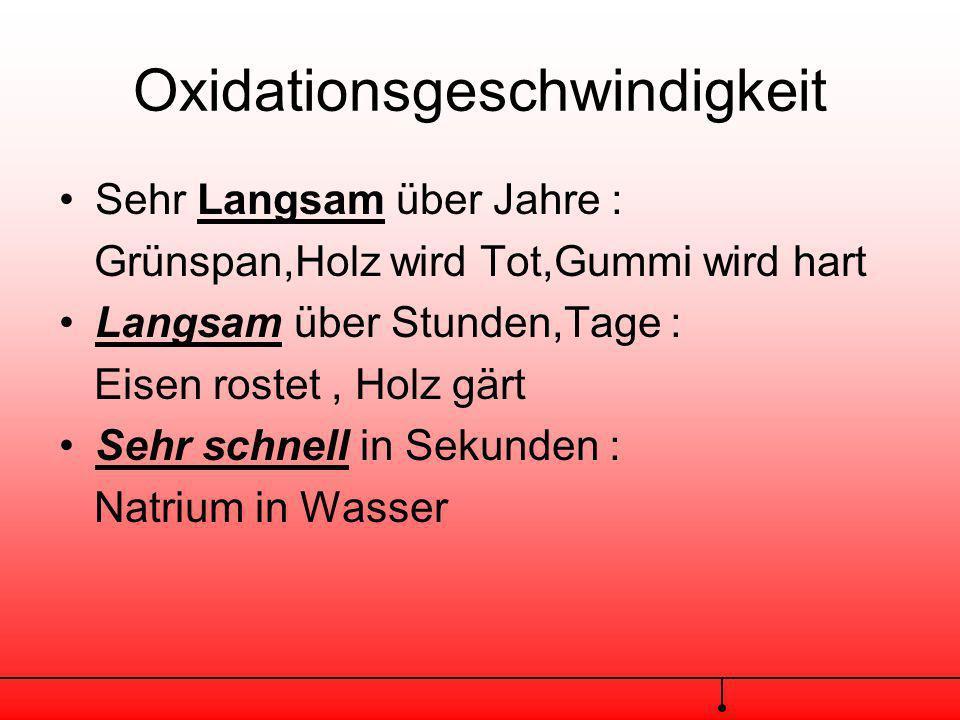 Der chemische Vorgang ist hier also die Exotherme Reaktion(Wärmeentwicklung)eines brennbaren Stoffes mit Sauerstoff auch Oxidation genannt Der physika
