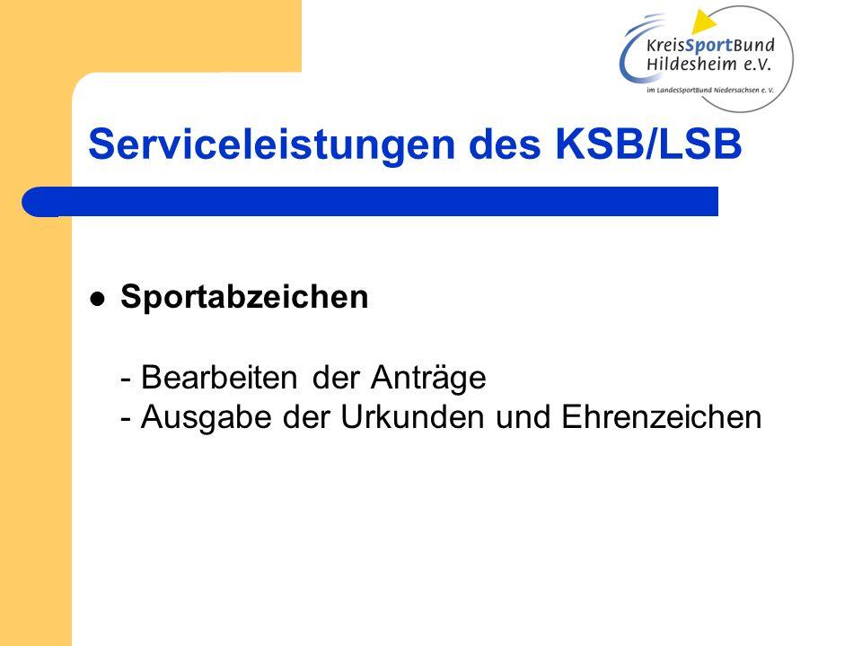 Serviceleistungen des KSB/LSB Sportjugend - Ferienfreizeiten - Zeltlagergroschen - Hüpfburgverleih - Jugendleiter/innen Ausbildung (Juleica)