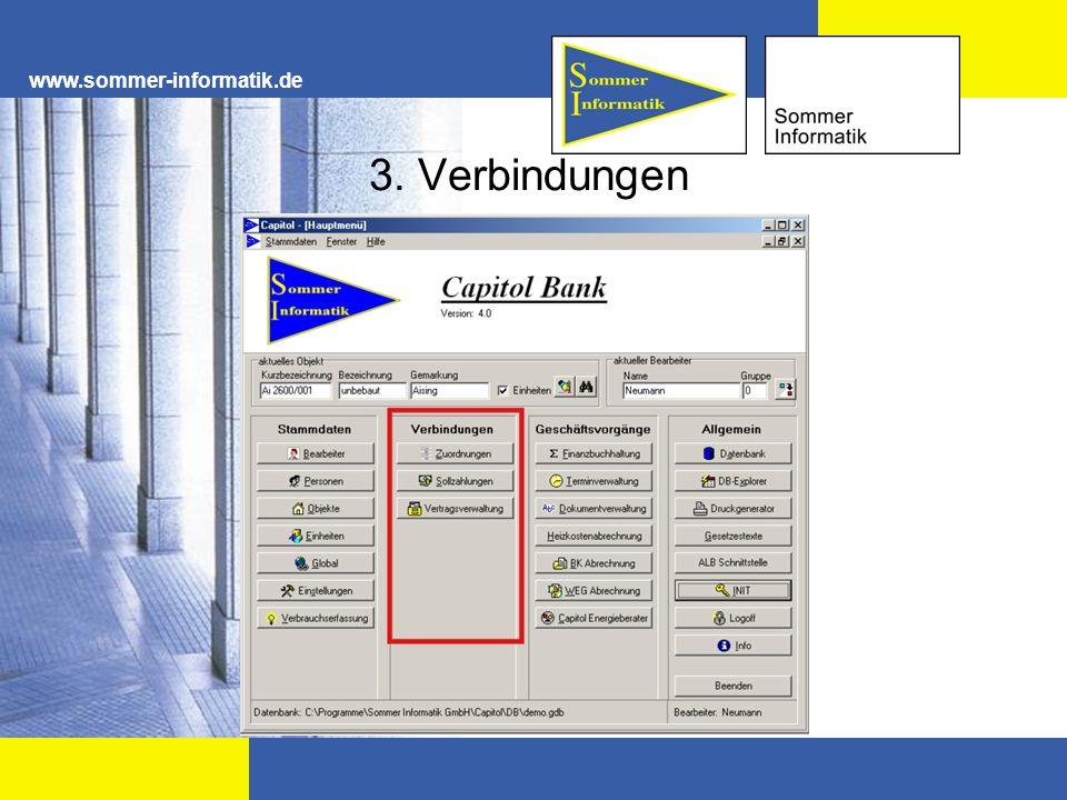 www.sommer-informatik.de 3. Verbindungen
