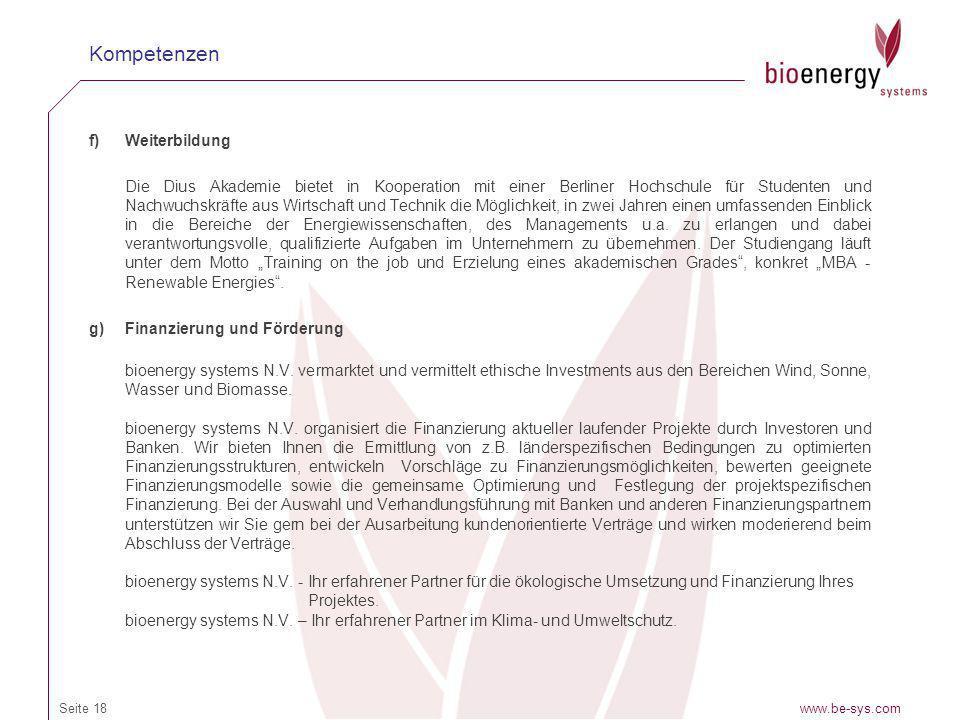 f)Weiterbildung Die Dius Akademie bietet in Kooperation mit einer Berliner Hochschule für Studenten und Nachwuchskräfte aus Wirtschaft und Technik die