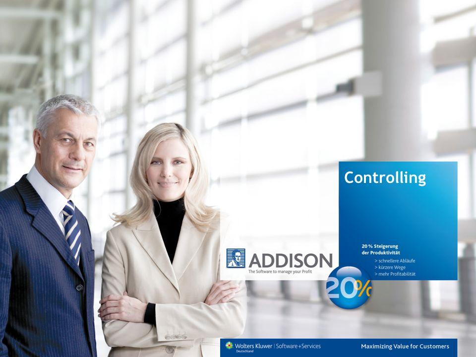 Informationen zu ADDISON DAS UNTERNEHMEN ADDISON ADDISON ist an über 25 Standorten in ganz Deutschland vertreten und betreut mehr als 20.000 Kunden, davon über 14.000 mittelständische Unternehmen sowie mehr als 6.000 Steuerberater und Wirtschaftsprüfer.