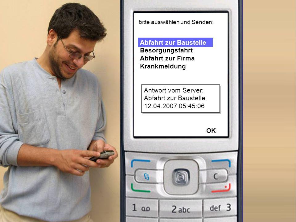 Senden Optionen Tiefbau Rabenweg Rathaus Fassade Hafenstraße Rohbau Schneider GmbH, Essen bitte auswählen und Senden: Antwort vom Server: Hafenstraße Rohbau 12.04.2007 05:45:13 OK