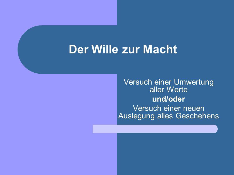 Nietzsche und Religion Die Metaphysik, die Moral, die Religion, die Wissenschaft – sie werden in diesem Buche nur als verschiedne Formen der Lüge in Betracht gezogen: mit ihrer Hilfe wird ans Leben geglaubt.