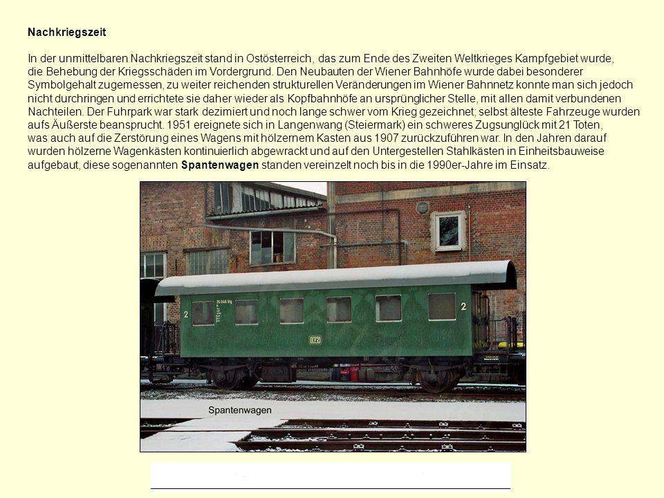 Elektrifizierung von Eisenbahnstrecken in Österreich Das bereits in der Monarchie erstellte Elektrifizierungs-Programm wurde von den zwanziger Jahren an realisiert.