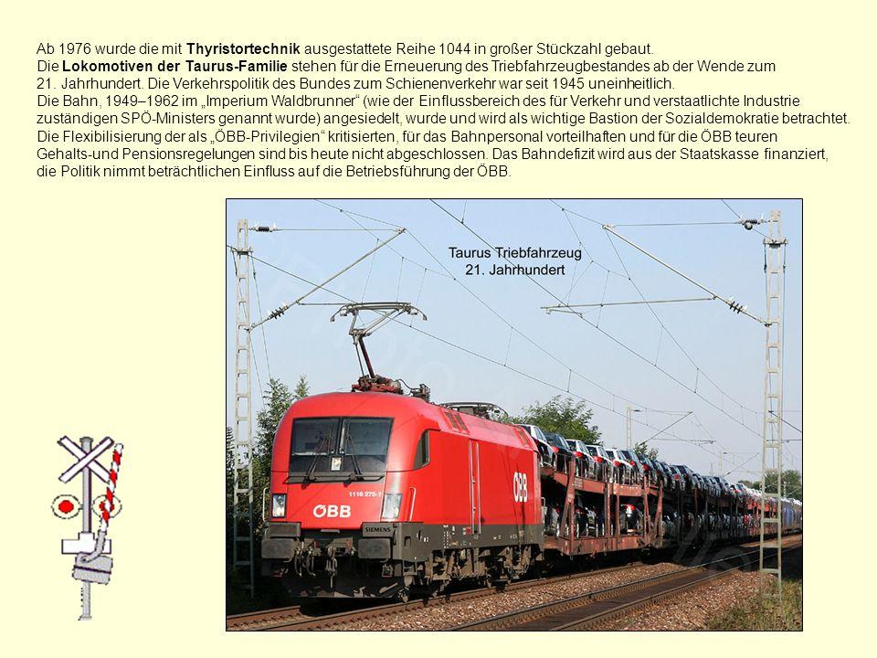 Die Umstellung von der Dampftraktion auf Elektro- und Dieselbetrieb war bis 1976 abgeschlossen, nur auf den Zahnradbahnen und einigen Schmalspurbahnen waren Dampflokomotiven vereinzelt noch länger anzutreffen.