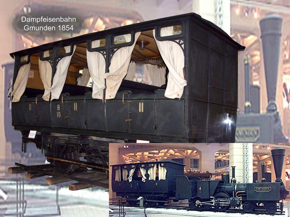 Erste Dampfeisenbahn: Die Nordbahn Als Geburtsstunde der Eisenbahn (mit Lokomotivbetrieb) in Österreich gilt 1836 der Spatenstich für die 1837 eröffnete Kaiser Ferdinands-Nordbahn, die erste reine Dampfeisenbahn des Kontinents (auf der bayerischen Nürnberg-Fürther-Bahn gab es bis 1862 Mischbetrieb).
