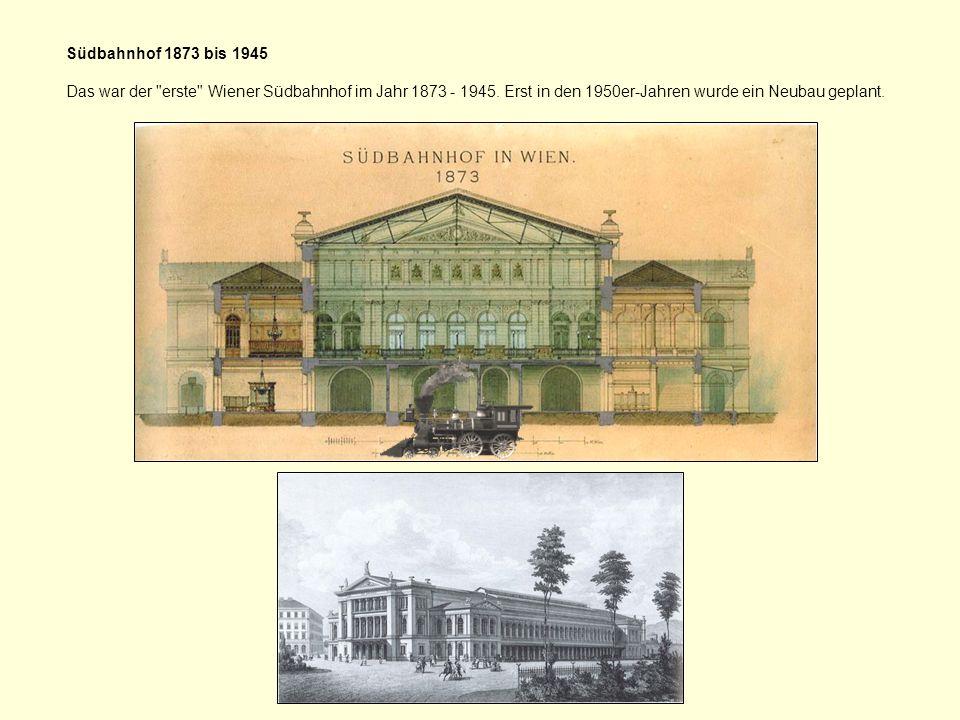 Die erste Staatsbahnphase (1841–1854/58) Das Eisenbahnprogramm des Staates sah die Errichtung mehrerer wichtiger Linien vor.
