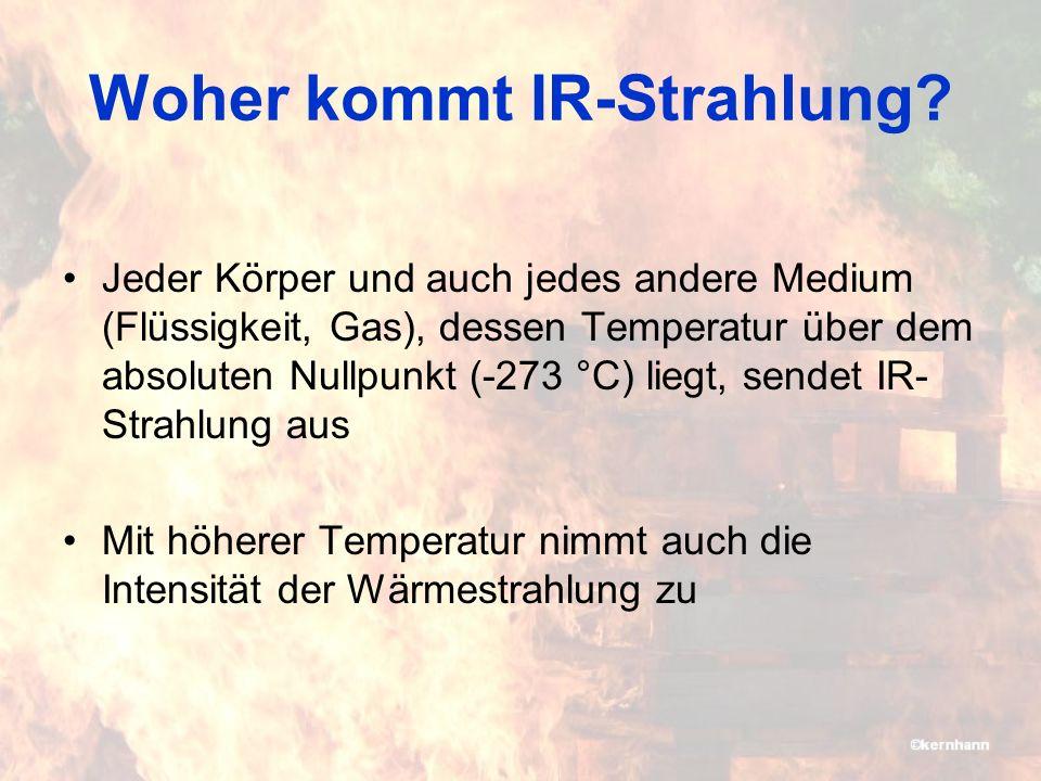 Wärmeübertragung Energie breitet sich aus durch : –Leitung: teilweise angezeigt –Strömung: in der Regel nicht angezeigt –Strahlung: wird angezeigt IFSTA