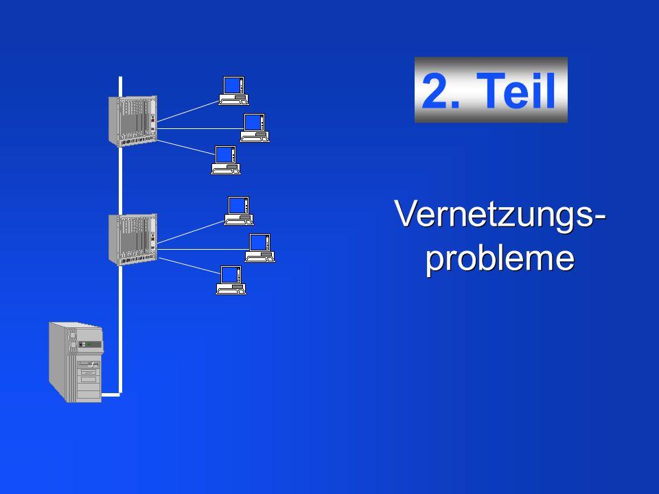 Vernetzungs- probleme 2. Teil