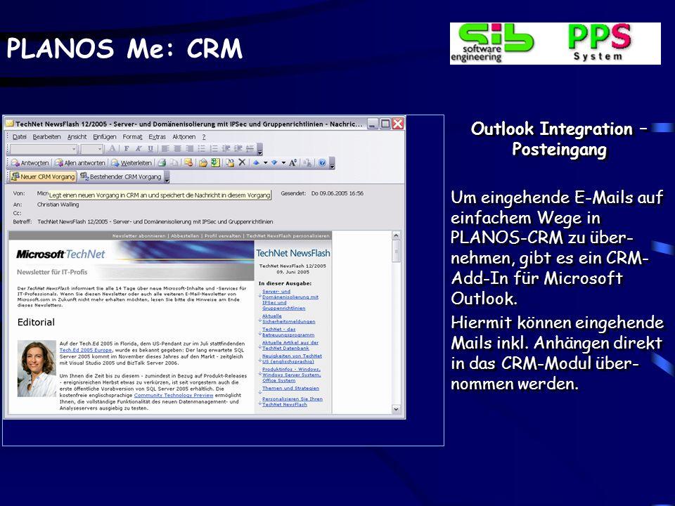 PLANOS Me: CRM Angebotsverlauf – Statistik Eine Angebotsstatistik, be- zogen auf Werte und An- zahl in Verbindung mit einer graphischen Dar- stellung, ergänzt die ver- trieblichen Angebotsdaten.