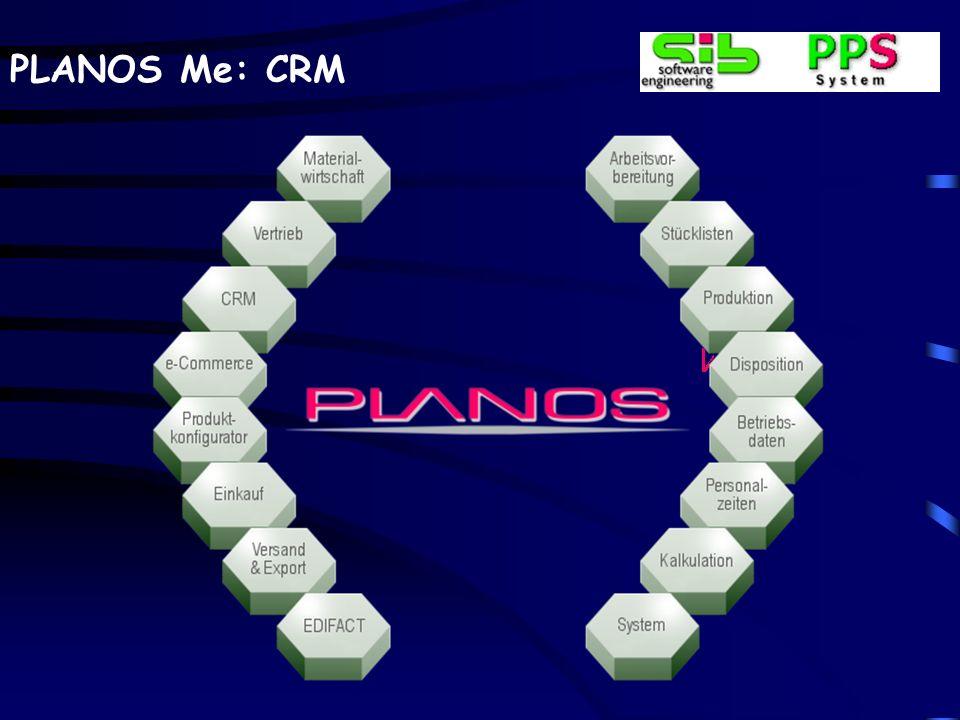 PLANOS Me: CRM Postausgang–Bestehender CRM-Vorgang Wie auch beim Posteingang kann eine ausgehende Mail auch einem bereits in PLANOS-CRM angelegten Vorgang hinzugefügt werden.