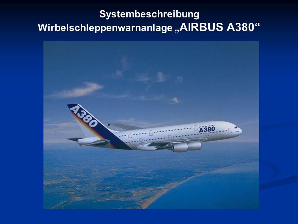 Systembeschreibung Wirbelschleppenwarnanlage AIRBUS A380